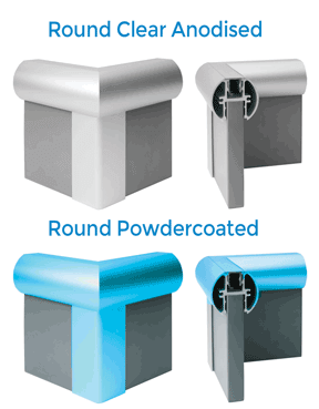 TPI Round Aluminium Options
