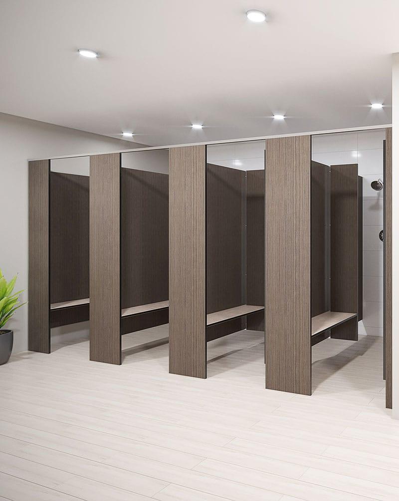 Shower – Floor Mounted Overhead Braced (FO-S)