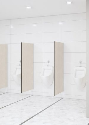 Urinal Screens and Partitions - Wall mounted