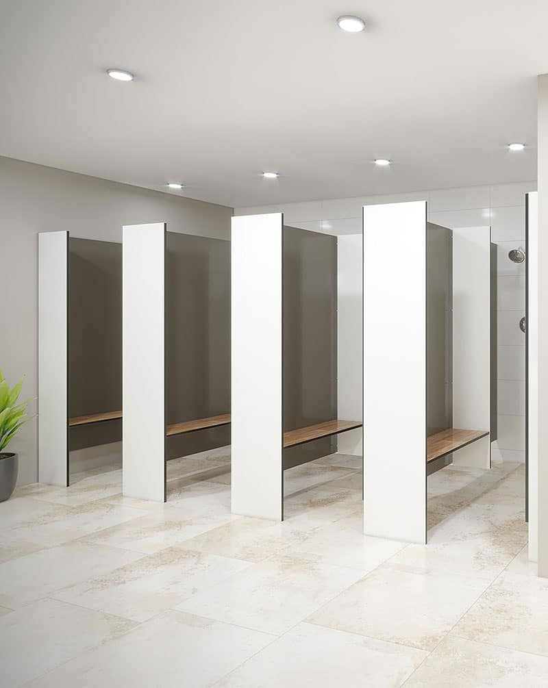 Shower – Floor Mounted Free Standing (FF-S) – Toilet Partitions ...