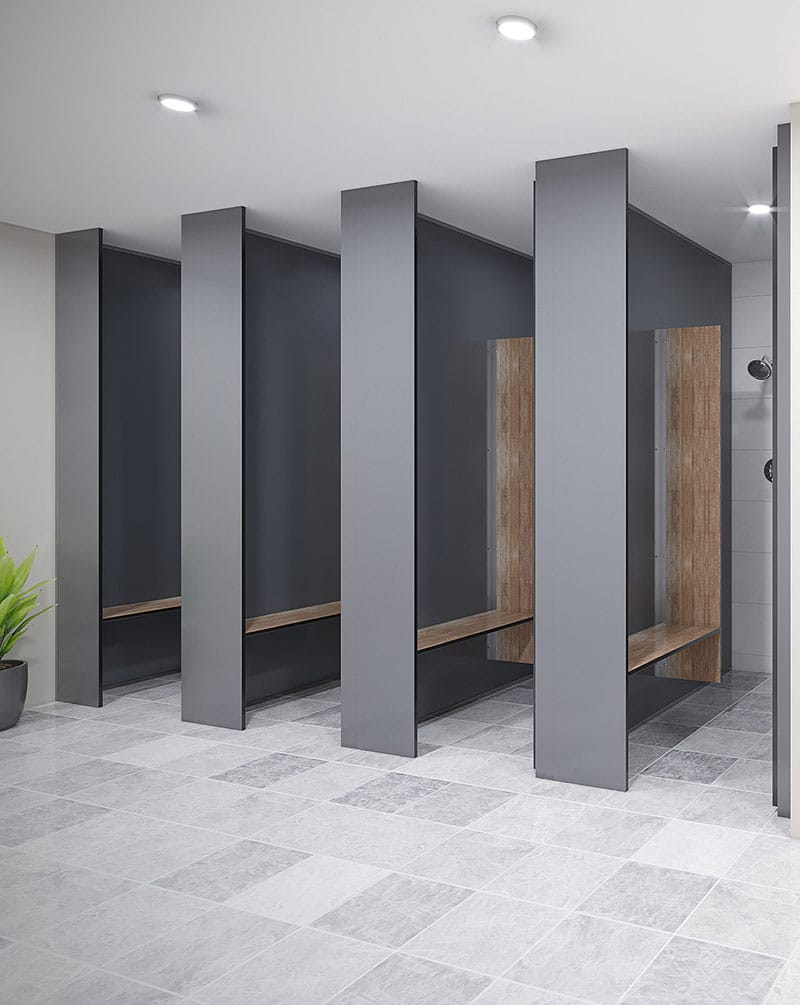 Shower – Full Height (FH-S) new – TPI Commercial Joinery